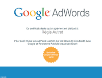 certification adwords